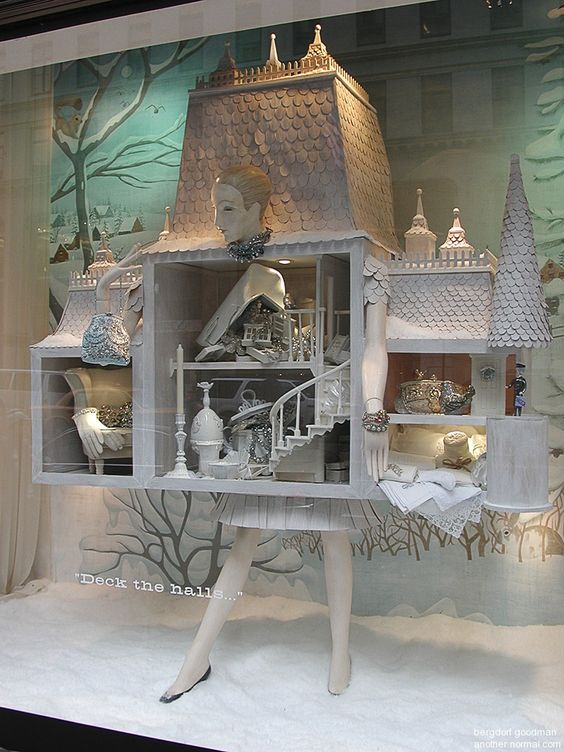 bergdorf goodman window displays; december 23, 2005 - Another Normal - The Art of Window Displays, NY and Beyond - photographed by Rudy Pospisil