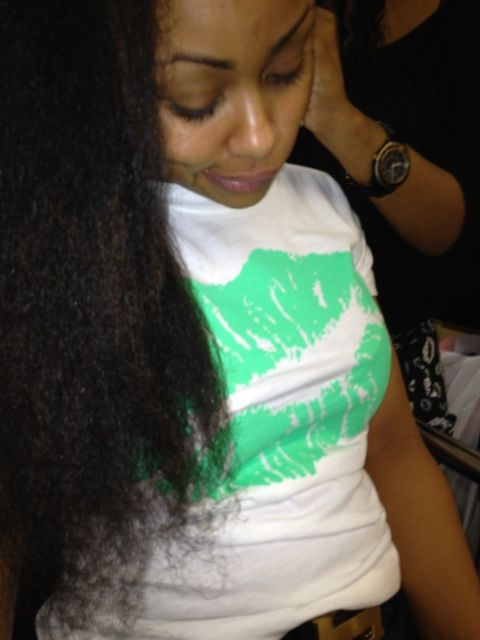 blac chyna real hair | She should have them ends looked at though..