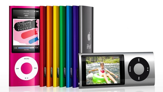 iPod nano 5th gen with video camera