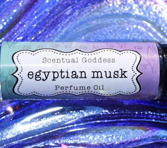 EGYPTIAN MUSK Perfume Oil - Clean Unisex Sexy Musky Scented Body Oil