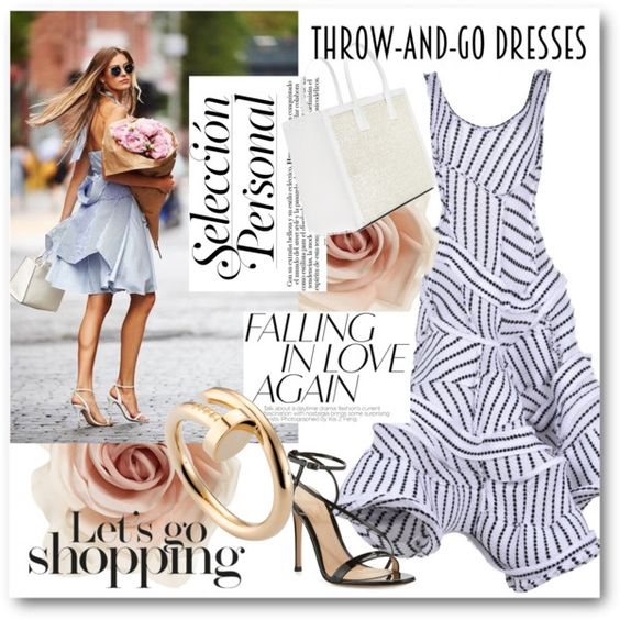 #Easy Peasy - Let's Go Shopping by nikkisg on Polyvore featuring Richard Malone…