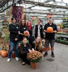 Garten-Center röttger : 4 neue Auszubildende in diesem Jahr bei uns gestartet –