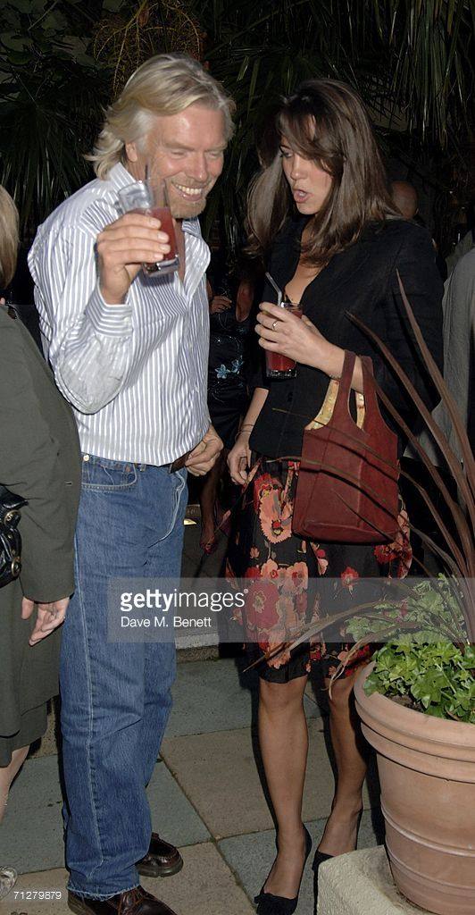 (EMBARGOED FOR PUBLICATION IN UK TABLOID NEWSPAPERS UNTIL 48 HOURS AFTER CREATE DATE AND TIME) Sir Richard Branson and Kate Middleton attend the Sony Ericsson WTA Tour's pre-Wimbledon party hosted by Sir Richard Branson of Virgin, at The Roof Gardens on June 22, 2006 London, England. (Photo by Dave M. Benett/Getty Images)