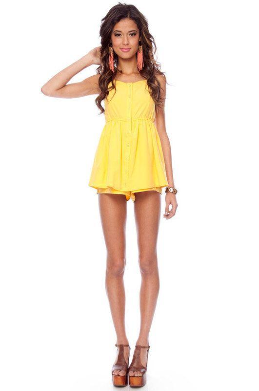 cute in yellow