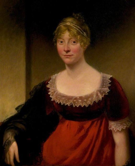 Portrait of a Lady by William Artaud, 1809, New Walk Museum & Art Gallery: