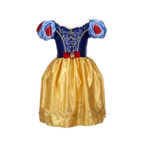 Girl Snow White Costume