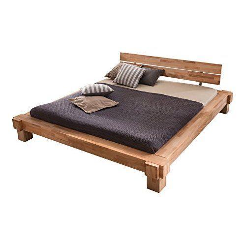 Massivholzbett Luna Balkenbett In Kernbuche Doppelbett Grosse 160x200 Holzbett Holz Schlafzimmermobel Massivholzbett