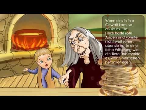 Hänsel und Gretel (einfache Version des Märchens der Gebrüder Grimm) - YouTube
