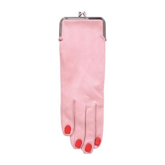 Glove Coin Purse (Pink)