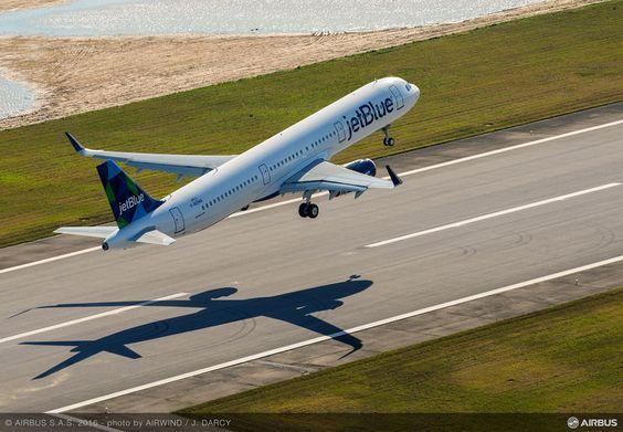 Airbus entrega o primeiro A321 fabricado nos EUA