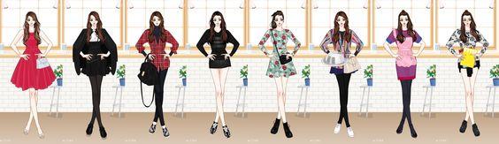 Han Ye Seul's Style in Birth Of A Beauty