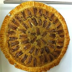 Pecan Pie V Recipe - cooked at 350 convection for 10 minutes then 300 ...