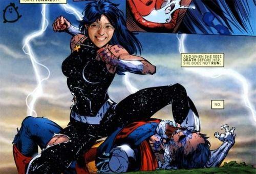 Virei super-heroína! Confere quem são as minhas colegas na missão de salvar a internet da chatice lá no http://www.garotasgeeks.com/2015/01/20/e-se-as-garotas-geeks-fossem-da-liga-da-justica/