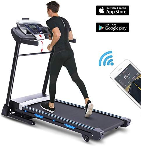 Buy Ancheer Folding Treadmill App Control 3 25hp Automatic