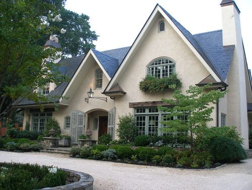 French country cottage at the top french country house for French country windows