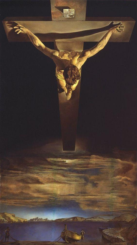 Сальвадор Дали: Христос святого Хуана де ла Крус (1951)