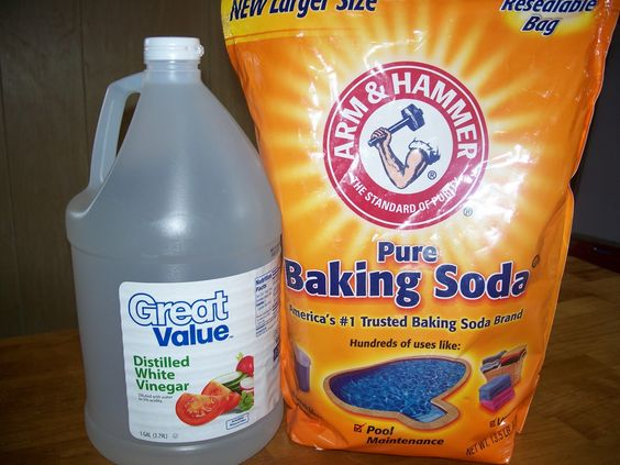 Vinegar And Baking Soda Will Replace Almost All Cleaners