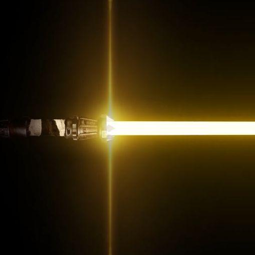 Steam Workshop Rey S Yellow Lightsaber In 2020 Star Wars Images Star Wars Wallpaper Lightsaber