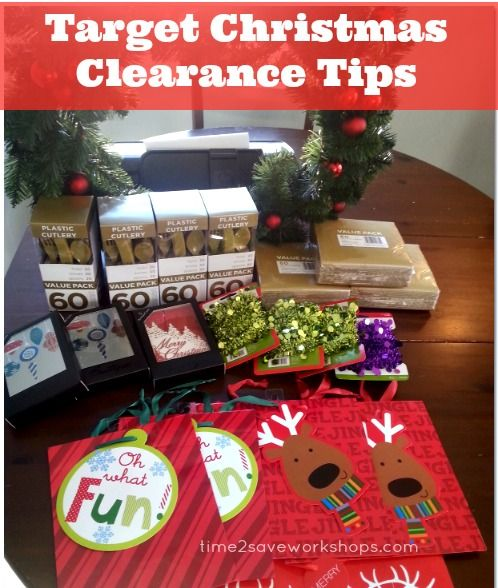 90% OFF Christmas Clearance at Target - LAST DAY to shop before they pack it up!!  Check out our Top 5 Target Christmas Clearance Tips!