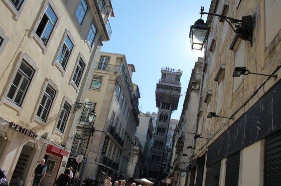 Çok Gezenti: Lizbon / Santa Justa Asansörü: Dünyanın en ilginç metal yapılarıdan biri.