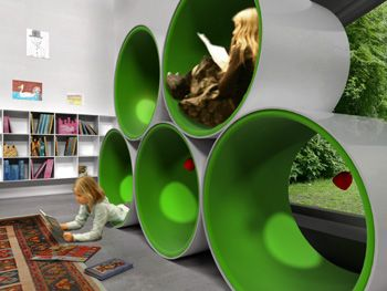 Study Tubes from Ordrup School, Denmark