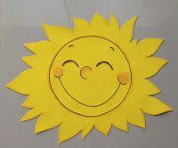 Aplique SOL em EVA, para decoração de sala de aula.