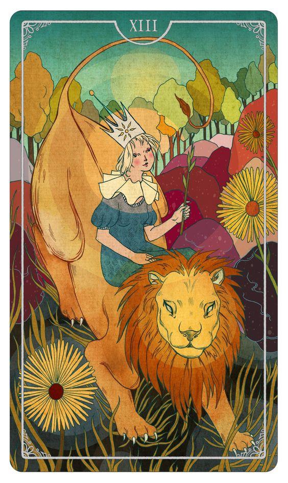 AstroSpirit / Leo / Fire / Queen Of Wands Julia Iredale