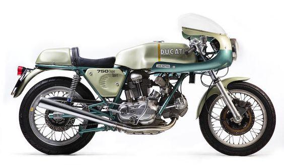 1974 Ducati 750SS Frame no. DM750SS*075260 Engine no. 075299