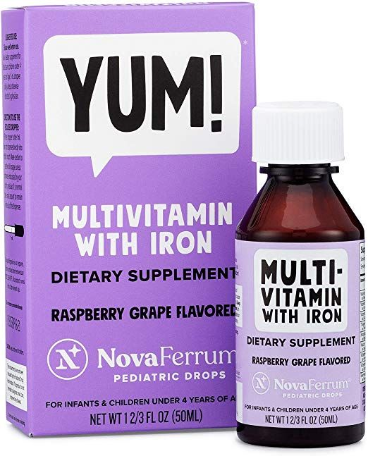 Liquid Multivitamin With Iron For Babies