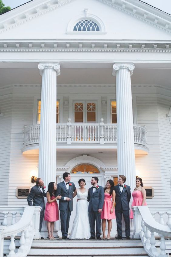 Wedding Party Photos At Mooreland Mansion In Willoughby Ohio Weddings Pinterest And