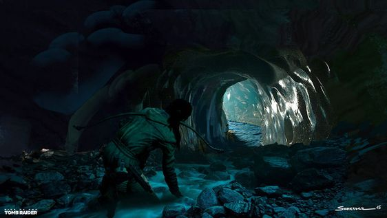 Rise of the Tomb Raider - Yohann Schepacz - Ice Ship Tomb Cave: