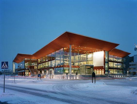 Kulturens hus Luleå Library Luleå Sweden