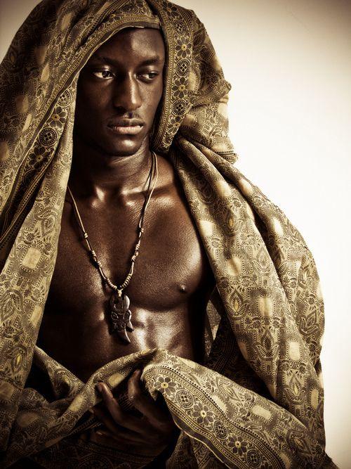 dark skinned african american models nude