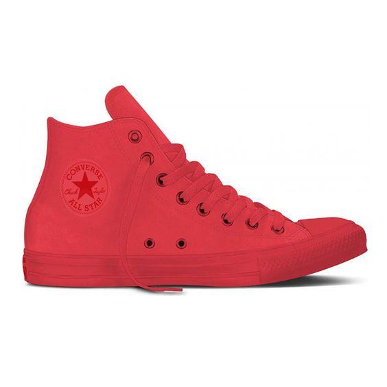 Converse Chuck Taylor All Star Sneaker High Monochrome Bright Crimson: