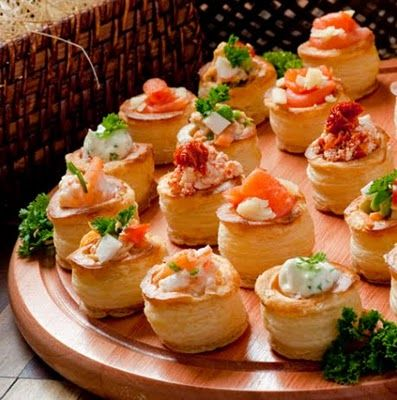 Canapes pinteres for Easy canape fillings