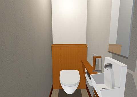 窓の無いトイレ 家相 風水 トイレ