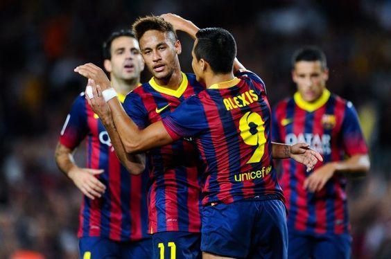 Neymar, protagonista del partido del Barcelona ante el Valladolid / Getty