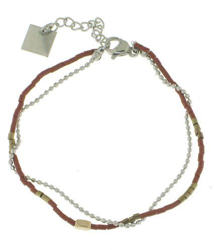 Bracelet ZAG. Bijoux créateurs. En vente en boutique et sur notre site internet : http://www.bijouterie-influences.com/search.php?search_query=zag+acier