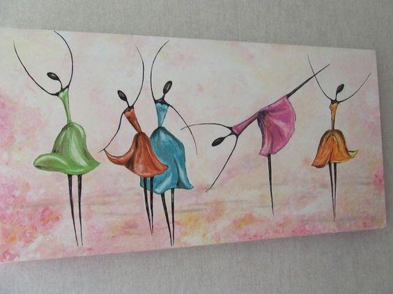 Peinture acrylique tableau contemporain tableau moderne d coration maison cadeaux toile et - Tableau peinture acrylique moderne ...