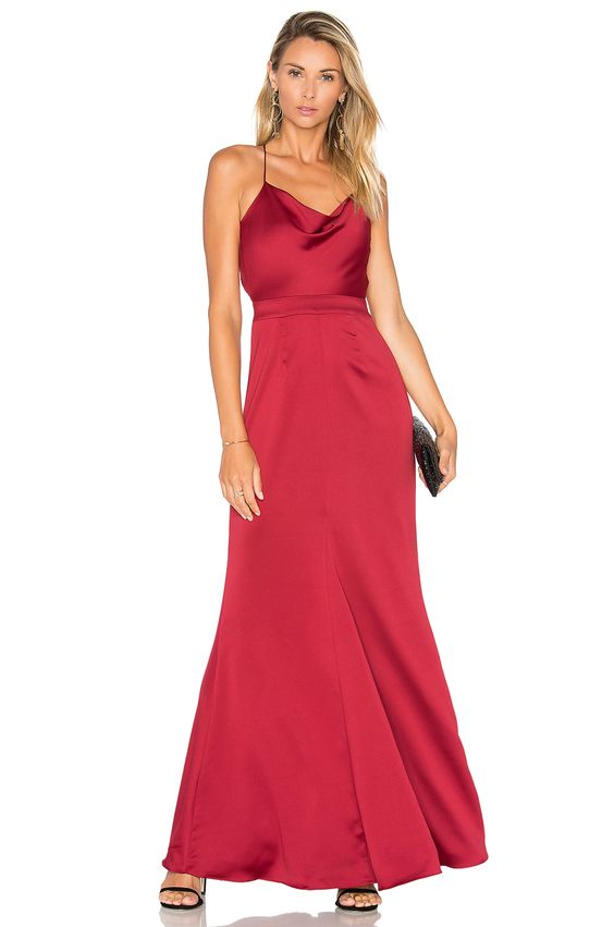 NBD x REVOLVE Seraphina Gown in Red | REVOLVE