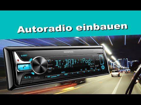 Autoradio wechseln, einbauen & an Autobatterie anschließen / Anleitung…