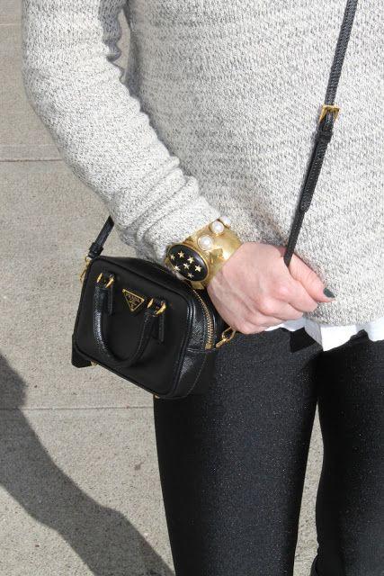 "prada multicolor - Prada-Black Saffiano Leather 'Lux"" Mini Crossbody Bag! | SF Shop ..."