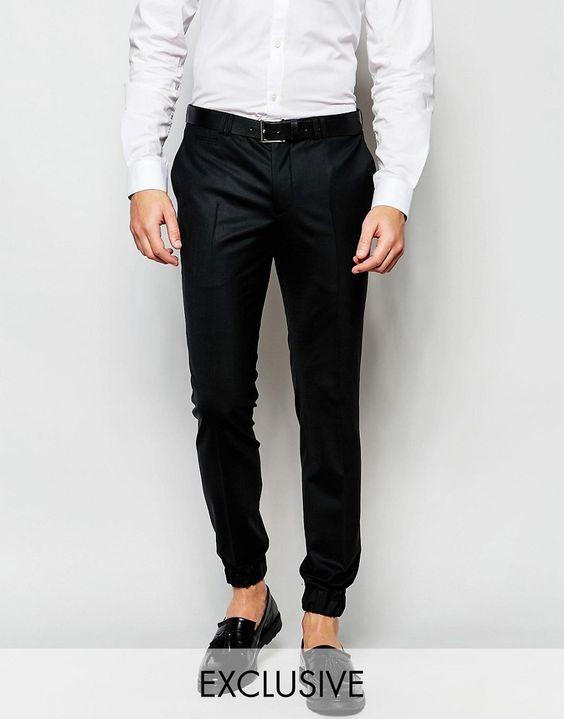 Noak Formal Trousers with Cuffed Hem