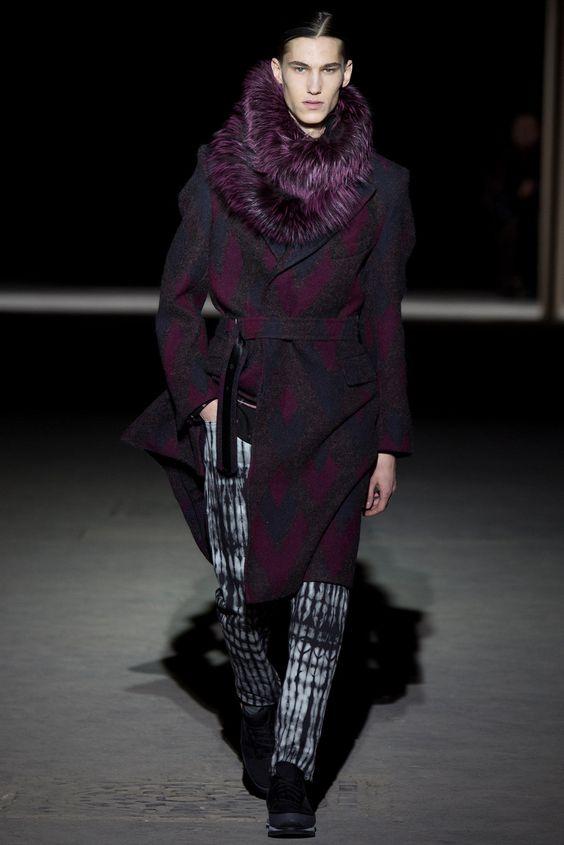 Dries Van Noten Fall 2014 Menswear Fashion Show
