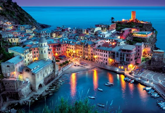 """Explore the breathtaking centuries-old seaside villages located on the beautiful Italian Riviera coastline.  New Cinque Terre - 2000 Piece Jigsaw Puzzle By Buffalo Games. 38.5"""" x 26.5"""" when complete. Includes Bonus Poster!  #puzzlewarehouse #puzzle #warehouse #jigsawpuzzle #jigsaw #puzzle #landscape #italy #cinqueterre #puzzles #buffalogames #new #newpuzzles"""