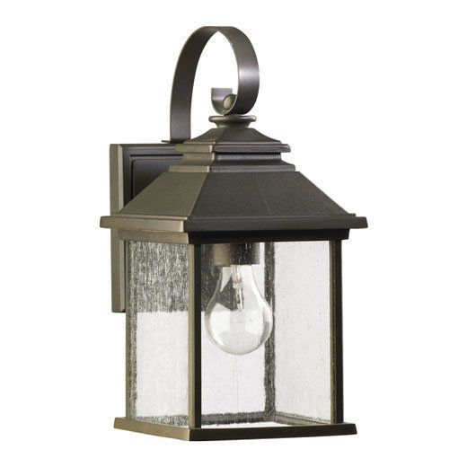 View the Quorum International 7940-7 Pearson 1 Light Outdoor Wall Sconce at LightingDirect.com.