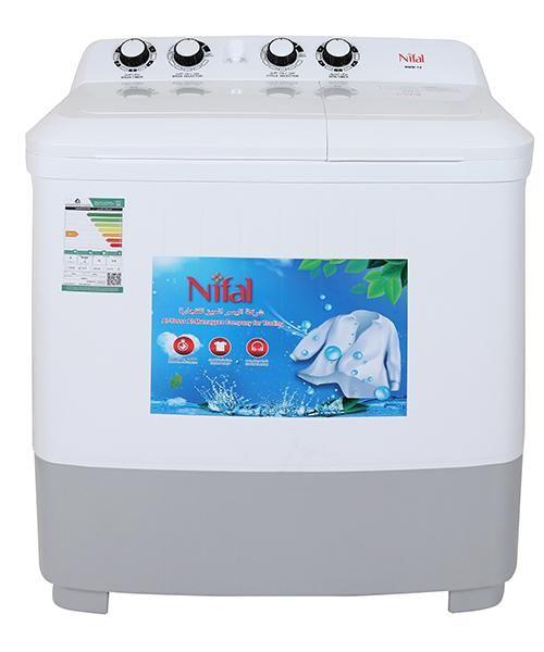 غسالة نيفال حوضين 10 ك Washing Machine Home Appliances Laundry Machine