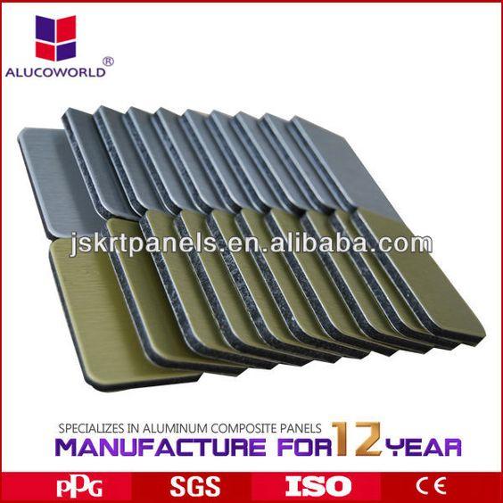 indoor /outdoor/PE/PVDF coating acm/acp/mirror panel for kitchen