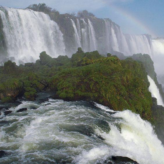 Iguazu, the world's second tallest waterfall