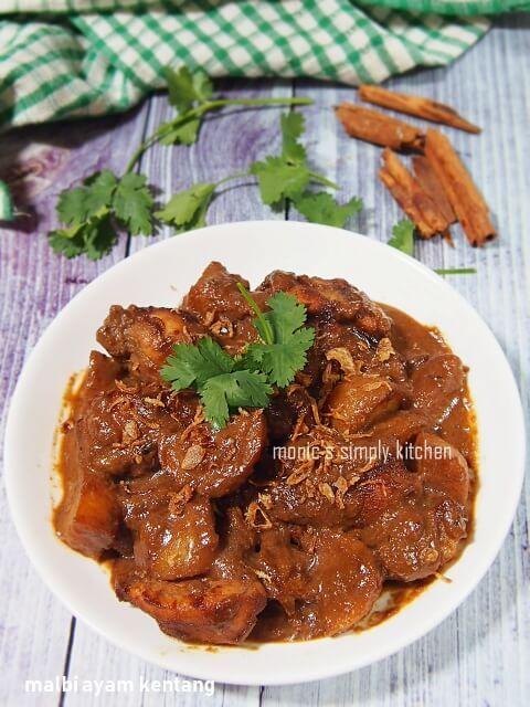 Resep Malbi Ayam Kentang Resep Resep Masakan Indonesia Makanan Minuman